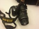 Sorunsuz NikonD40 18-55 lens+kılıf+orjinal batarya ve şarj aleti
