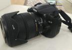 Nikon D5000 Sigma 18-200lens