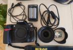 Nikonun tankı D300 18-200 lens ile
