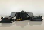 Nikon D7200 Body, Battery Charger, Multi Function Power Battery Grip