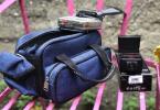 Fotoğraf makinesi çantası flaş + wolkmen