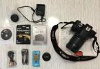 CANON 600D 18-135 lens, çanta kutu içersindekiler dahil