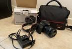 Canon eos 2000D 18-55 dc  + Canon 10-18mm lens Sıfır ayarında