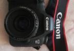Canon 6d. 50 mm canon lens ve çanta hediye