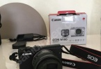 SIFIR CANON EOS M100 AYNASIZ FOTOĞRAF MAKİNESİ + 64 GB EK HAFIZA KARTI HEDİYE