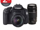 Canon 600d 18.55 - 75.300 lensli