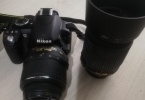 Nikon D3100 Çift Lens 18-55mm ve 55-200mm