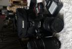 Canon 500D seti + Canon 75/300 1.5m/4.9ft Lens