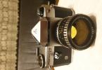 Pentacon Super Carl Zeiss lens ile