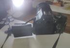 Canon 600d fotoğraf makinesi + EFS-18-200 lens