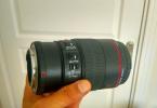Canon 100mm 2.8 macro sıfır ayarında