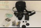 Nikon D3200 sıfır ayarında çok az kullanılmış