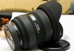 Kiralık 10-20mm f/4-5.6 EX DC HSM Objektif-Nikon Uyumludur